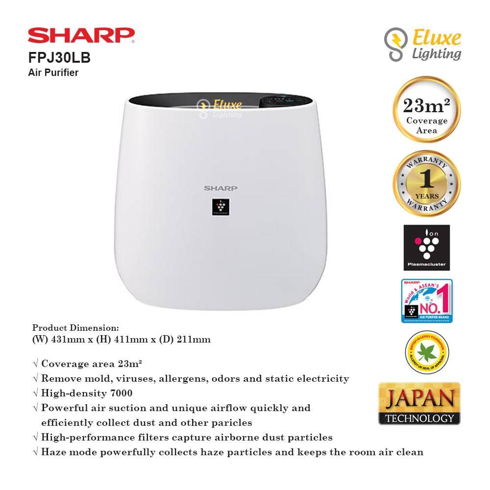 SHARP FPJ30LA/FPJ30LB AIR PURIFIER